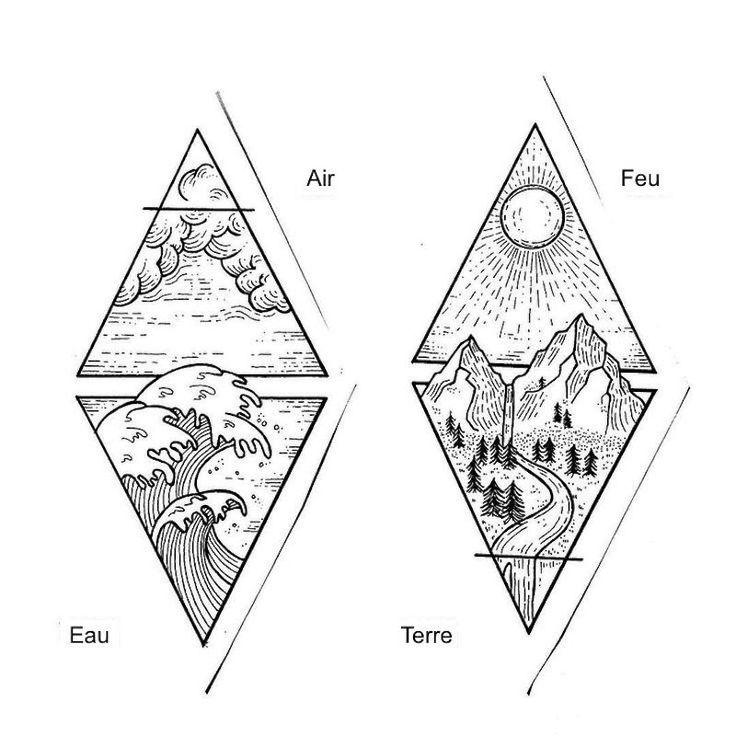les 25 meilleures id es de la cat gorie tatouages triangle sur pinterest tatouage triangle. Black Bedroom Furniture Sets. Home Design Ideas