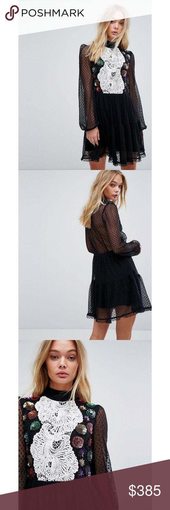 Millie Mackintosh Dress 100% authentic ! Brand new with tags 💓 millie mackintosh Dresses Long Sleeve