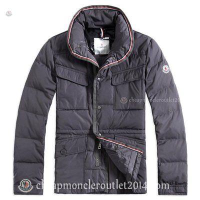 Grey Moncler Millais Down Jackets for Men @ cheapmoncleroutlet2014.com