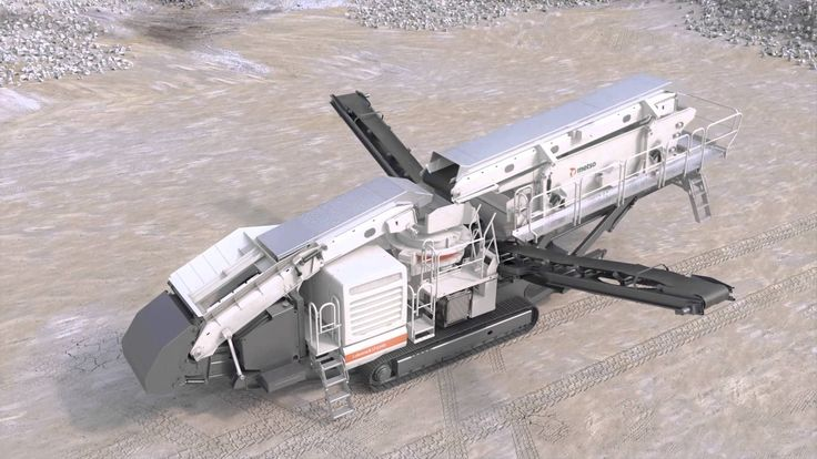 Metso Lokotrack® LT220D™ animation