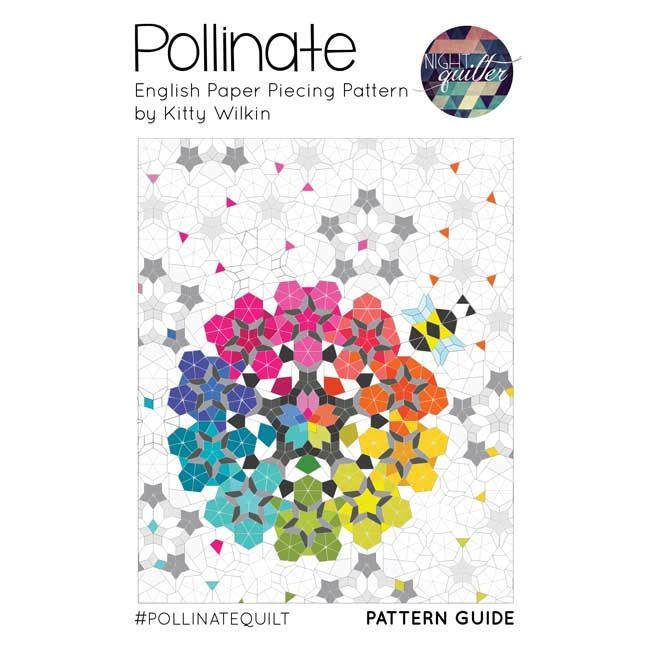 Pollinate Quilt English Paper Piecing Quilts English Paper Piecing Epp Quilt Patterns
