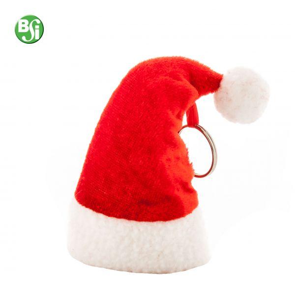 Portachiavi a forma di cappello di Babbo Natale  #portachiavi #gift #natale #gadgetpersonalizzati #regalo #christmas