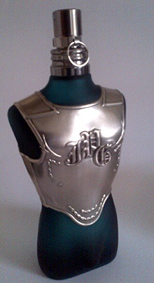 sneak preview of the next Jean Paul Gaultier Le Male Collector's Edition bottle. Out September.