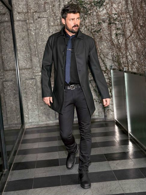 Karl Urban for Sharp Magazine