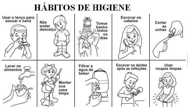 Fotos de habitos de higiene - Imagui