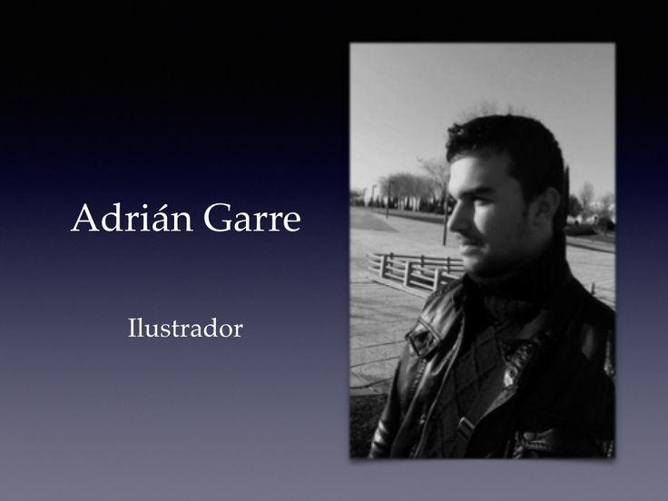 Cuando Adrián se puso en contacto conmigo para hacerme llegar sus ilustraciones y vi su gran talento,  supe que había llegado el momento de plasmar en imágenes nuestras novelas.