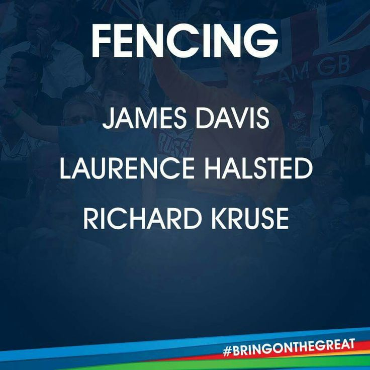 Fencing Team GB Rio 2016