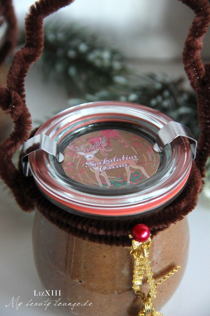 Speculoos cream freebie printable for Weck glass | mybeautylounge.de