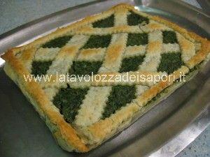 CROSTATA SALATA ALLE BIETOLE  http://www.latavolozzadeisapori.it/ricette/crostata-salata-alle-bietole