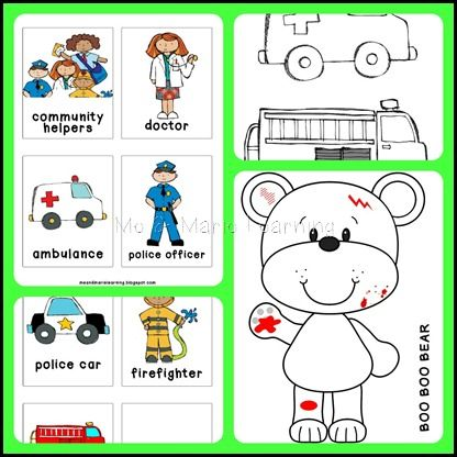 17 Best images about Community Helpers Theme on Pinterest   Fire ...