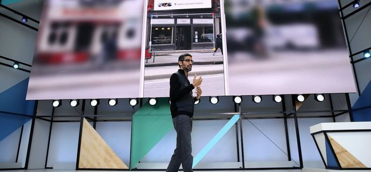 Google's Sundar Pichai gives a master class for creating simple, engaging presentations.