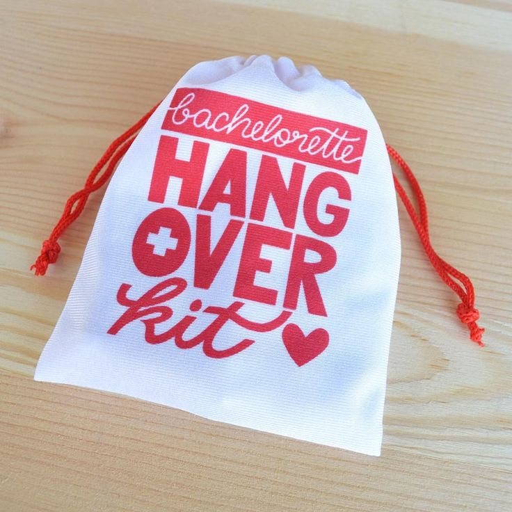 Bachelorette Hangover Kit Bag