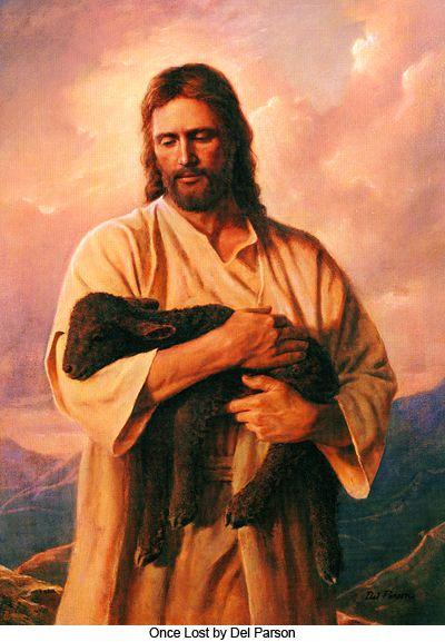 Jézus a fekete báránnyal