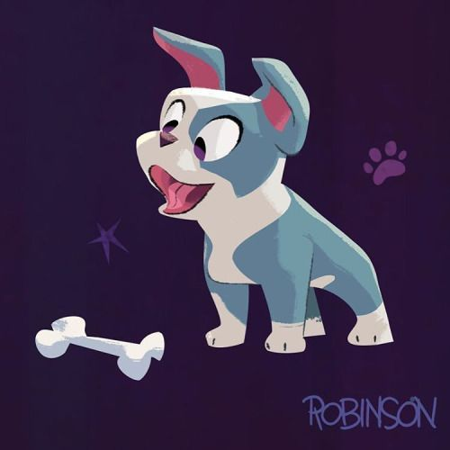 Annnnd the final #disneydog…Winston from #feast! He's pretty excited about that…