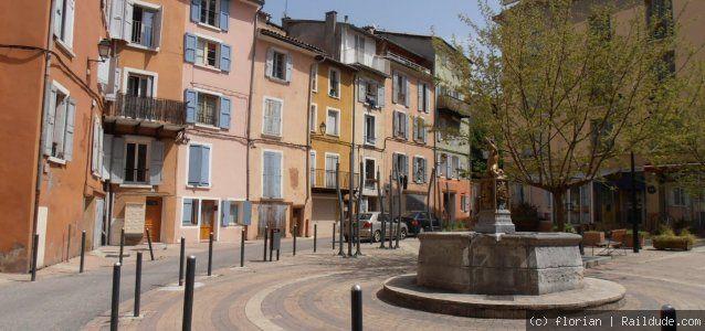 Digne-les-Bains - Alpes de Haute Provence - 608 m