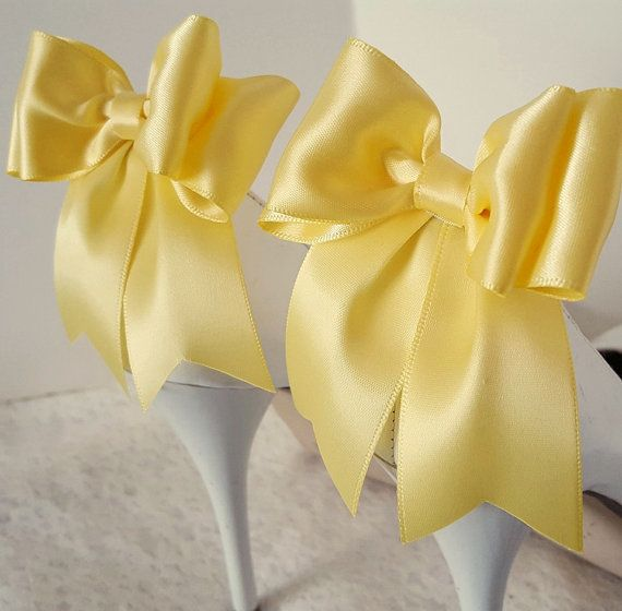 Check out this item in my Etsy shop https://www.etsy.com/listing/261108614/bow-shoe-clips-wedding-shoe-clips-bridal