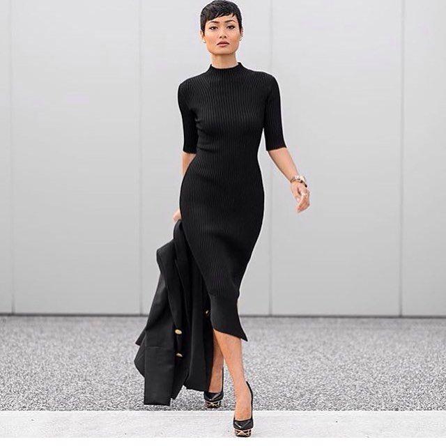 HIRE IT NOW. CAMILLA AND MARC - RESTRAINT KNIT DRESS From $149, available in size 6 & 8. Order now & receive 20% off* #iamfinesseau #CamillaAndMarc #NewArrivals #DesignerDressHire #Dresses #OnlineDressHire #Australiawide #DressesForHire #Love #black #Dress #Elegance