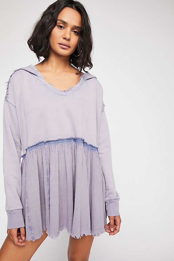 afef7612a05a3 Summer Dreams Pullover - Distressed Pullover Hoodie - Beach Coverup