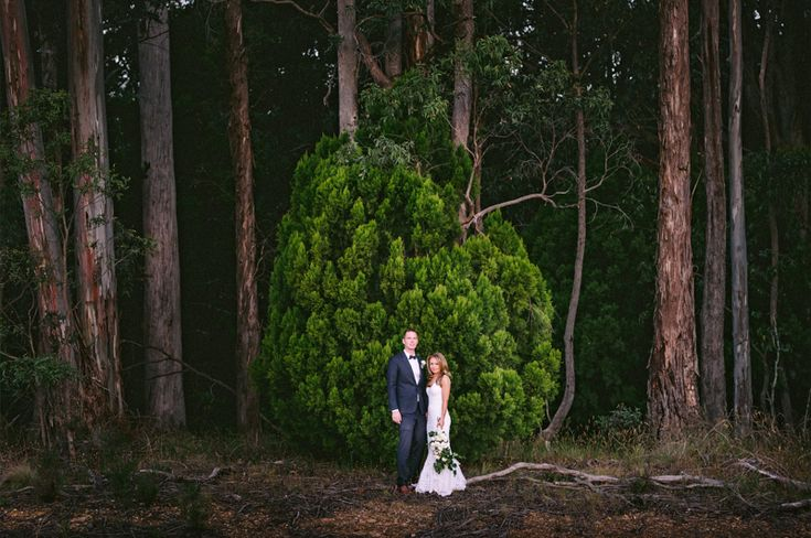 Daylesford wedding at Sault lavander farm. The Daylesford forest is magical. www.shaunguestphotography.com.au