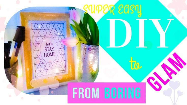 ❀ from DULL to GLAM ❀ DIY