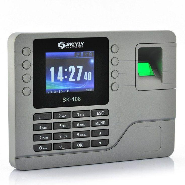Color Screen Fingerprint Attendance System