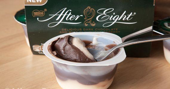 """Bimby Truques & Dicas: """"iogurtes"""" sobremesa láctea de after eight"""
