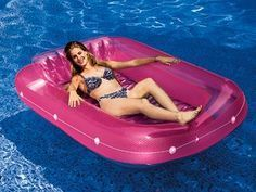 tan dazzler inflatable pool float