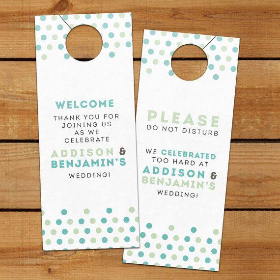 21 best Door hanger images on Pinterest Door hangers, Hotel - restaurant door hanger template