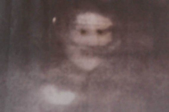 Photo taken by Christine Hamlett of a Black Eyed Child in Hanley Town Hall