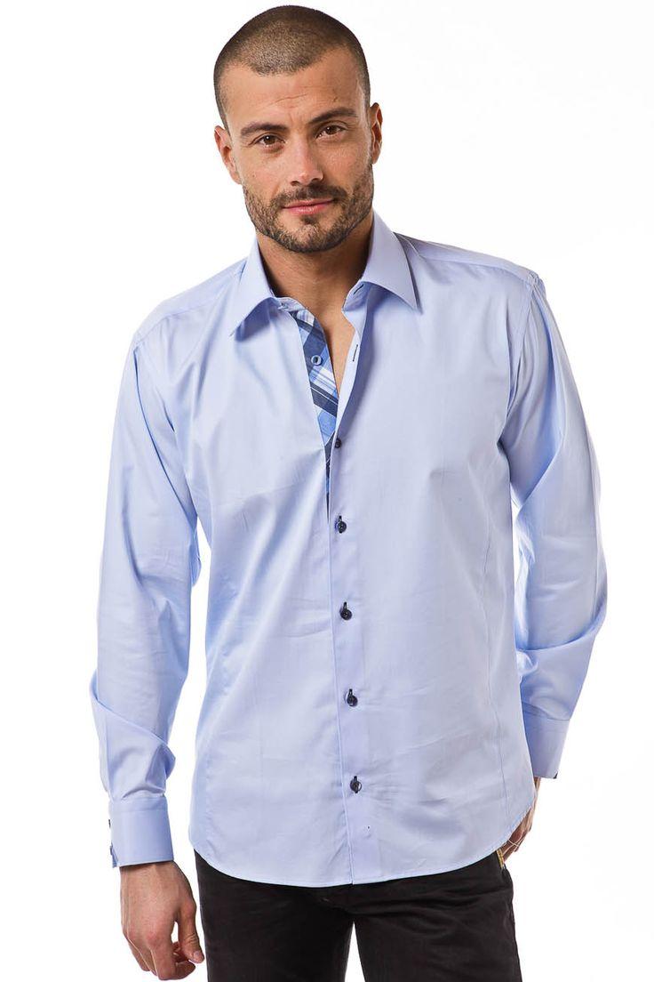17 best images about chemises homme sur pinterest chic de sport chemises et chic. Black Bedroom Furniture Sets. Home Design Ideas