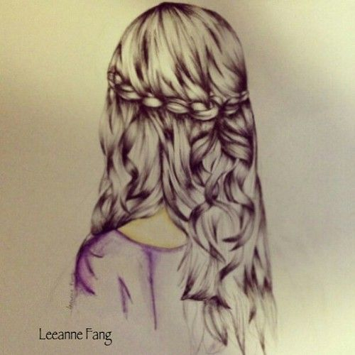 Bouncy Curls With A Glistening Shine This Drawing Definitely Captures Her Beauty