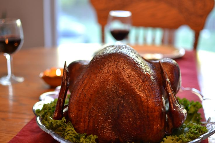 Smoked Whole Turkey - delicious and perfect every time!  Great instructions on how to make it.