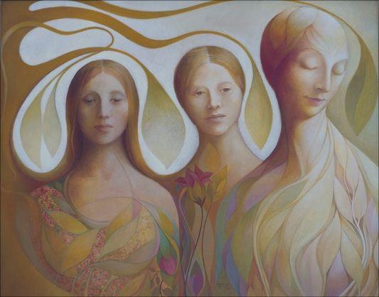 Catharina de Bliquy (born 1948) 'The Three Sisters', 2000