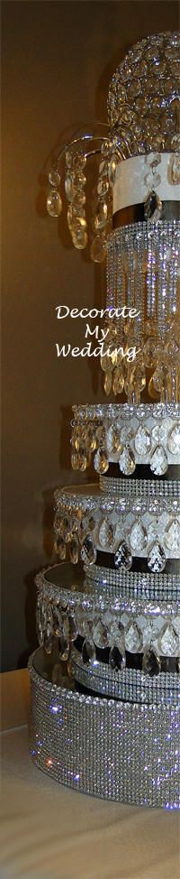 crystal wedding cake separators 12 best images about cake stands on more owl 13120