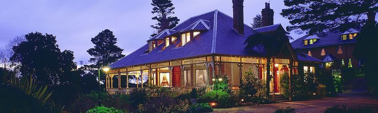 Lillianfels, blue mountains luxury resort
