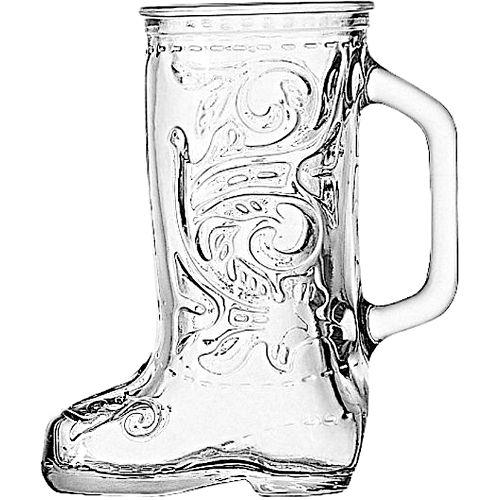 Cowboy Boot Mugs Glass