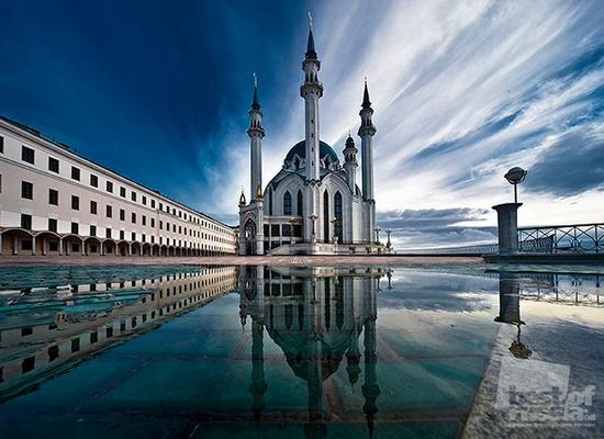 Mezquita. Kazan