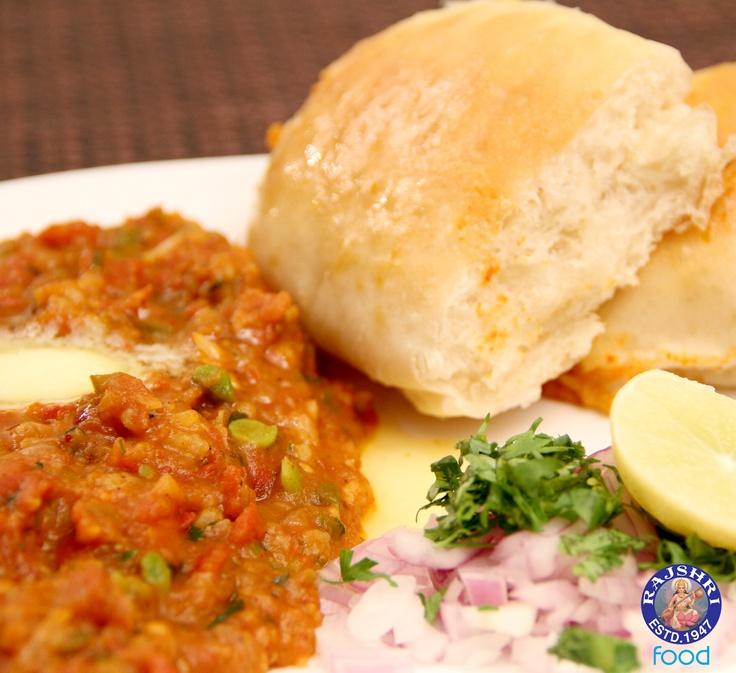Pav Bhaji - #Indian #Vegetarian #Recipe by Ruchi Bharani