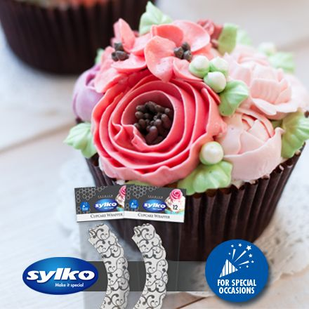 For any special occasion (or even when you just feel like baking), use Sylko's cupcake wrappers to add a special touch of class and style to your delicious cupcakes.