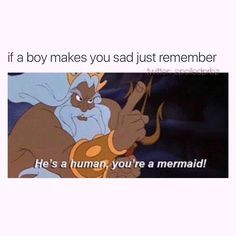 Always remember, you're a mermaid.