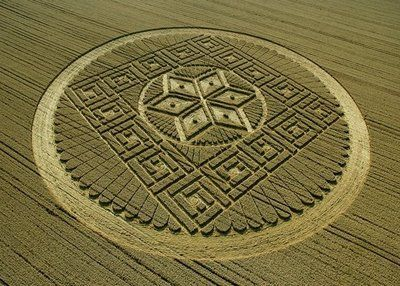Another 2012 Mayan Crop Circle : Woolstone Hill, Oxfordshire 13th August 2005