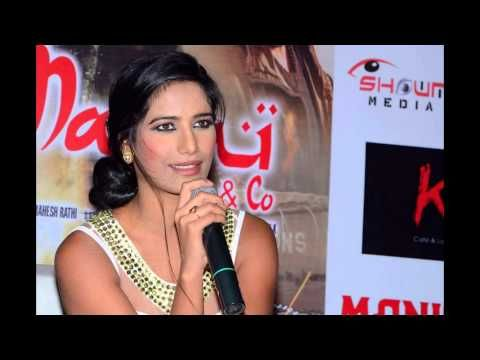 Poonam Pandey Promotes Malini and Co Movie Photos