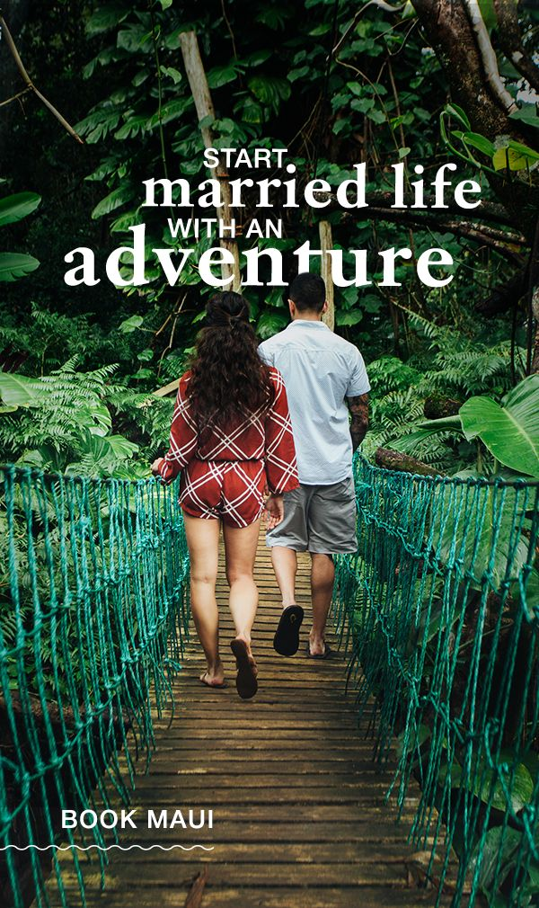 Maui has everything honeymooners need to start married life off right. Discover adventure, relaxation and romance in an idyllic setting when you book Maui.