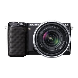 Sony NEX-5R 16.1 MP Compact Interchangeable-Lens Digital Camera with 3-Inch LCD