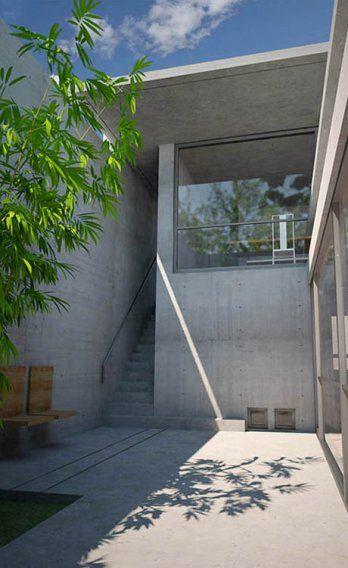 Tadao Ando Osaka House  #ando #architecture #tadao Pinned by www.modlar.com