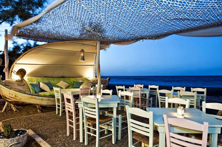 Beach wedding and reception in Greece ~ Weddings in Greece | Destination…