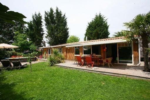 Location de charme maison en bois typique du bassin d - Maison bassin d arcachon location nice ...