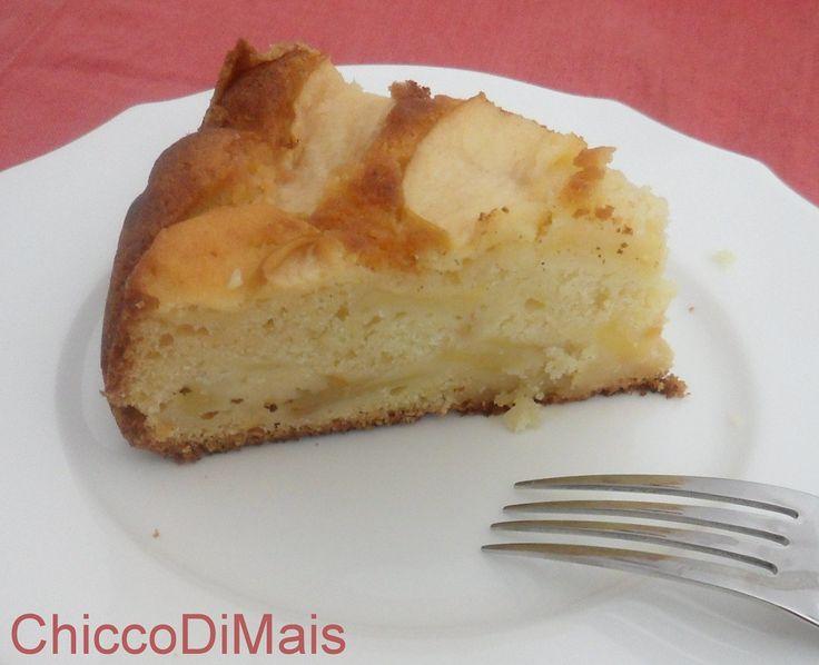 Torta di mele e ricotta ricetta dolce il chicco di mais