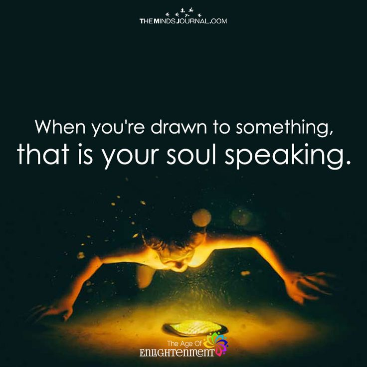 When You're Drawn To Something - https://themindsjournal.com/youre-drawn-something/