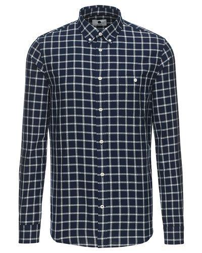 De lækreste NN.07 New Derek langærmet skjorte NN.07 Skjorter til Herrer i lækker kvalitet